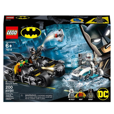 Batman 76118 - Mr Freeze Batcycle Battle