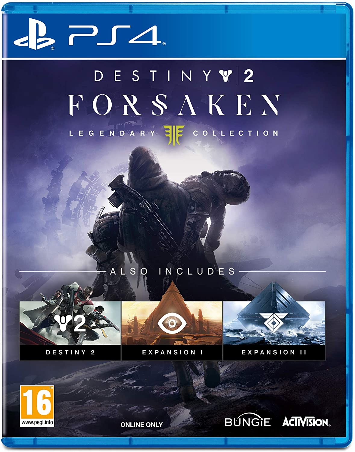 PS4 - DESTINY 2 LEGENDARY EDITION