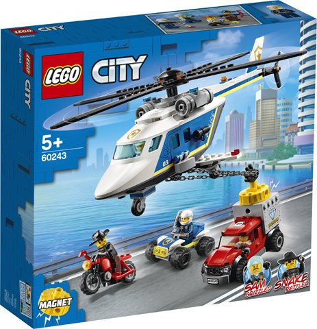 City 60243 - Police Helicopter Chase