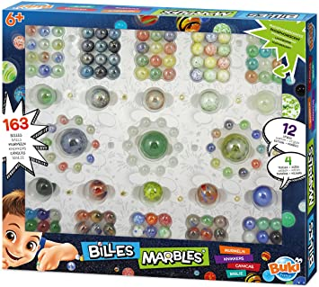 Buki - Marbles 163pcs set