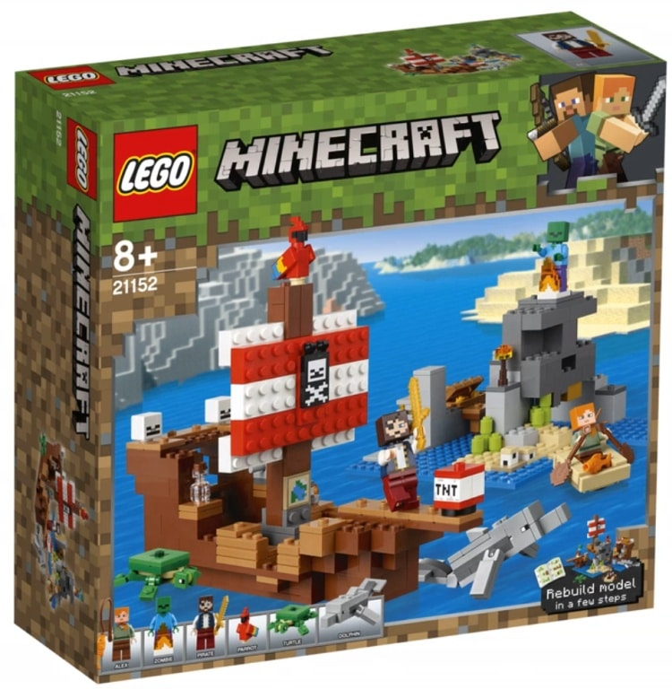 Minecraft 21152 - Pirate Ship