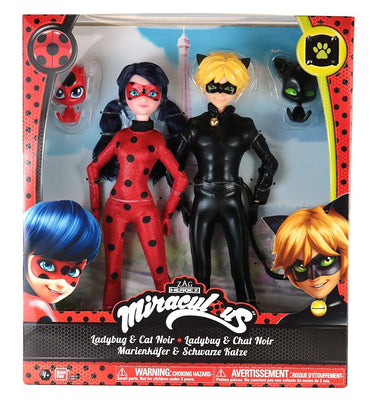 Ladybug and Cat Noir Set