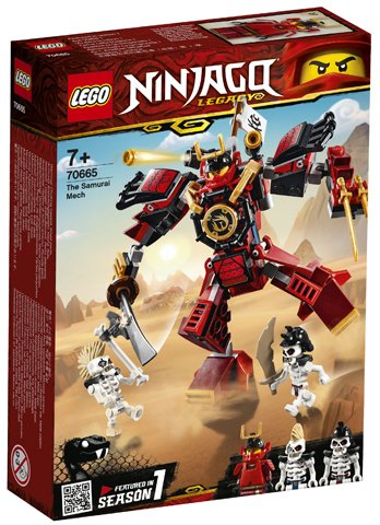 Ninjago 70666 - The Samurai Mech