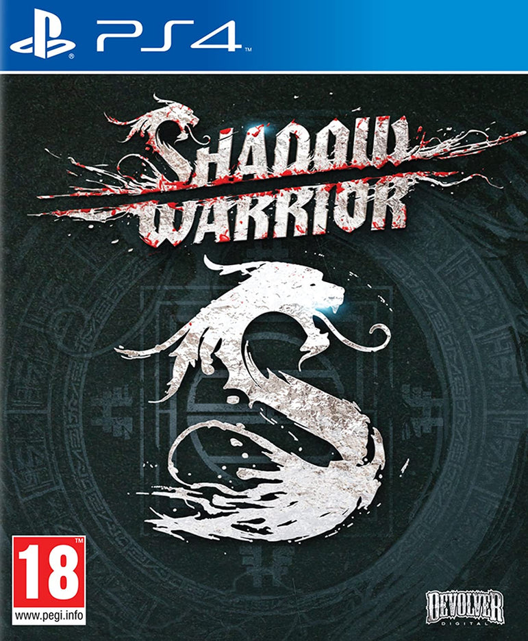 PS4 - SHADOW WARRIOR