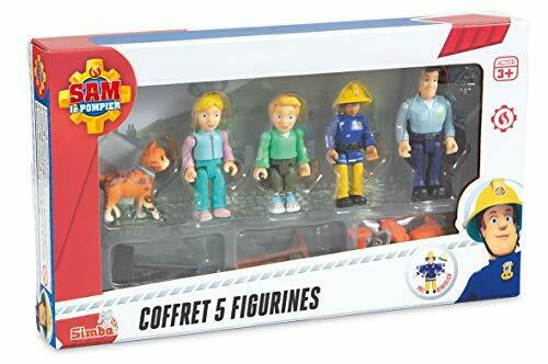 Sam Le Pompier - Coffret 5 Figurines