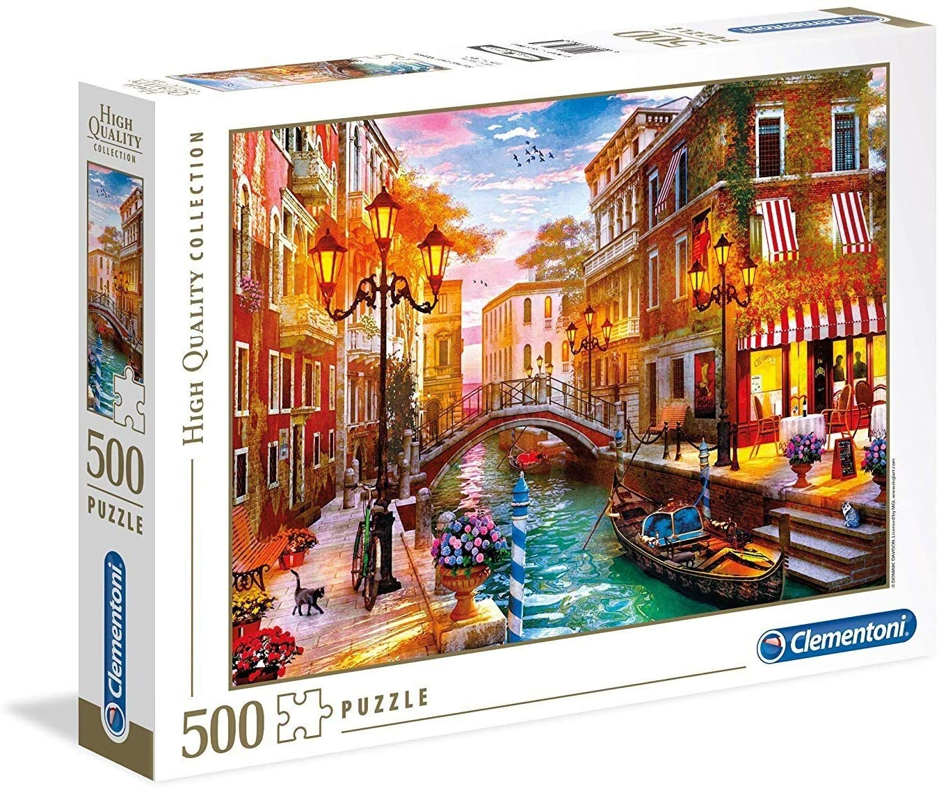 Sunset Over Venice - 500 Pcs High Quality Collection
