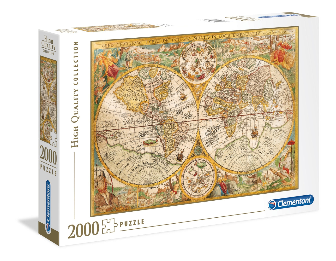Ancient Map - 2000 pcs - High Quality Collection