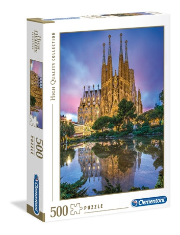 Sagrada Familia - 500 Pcs High Quality Collection