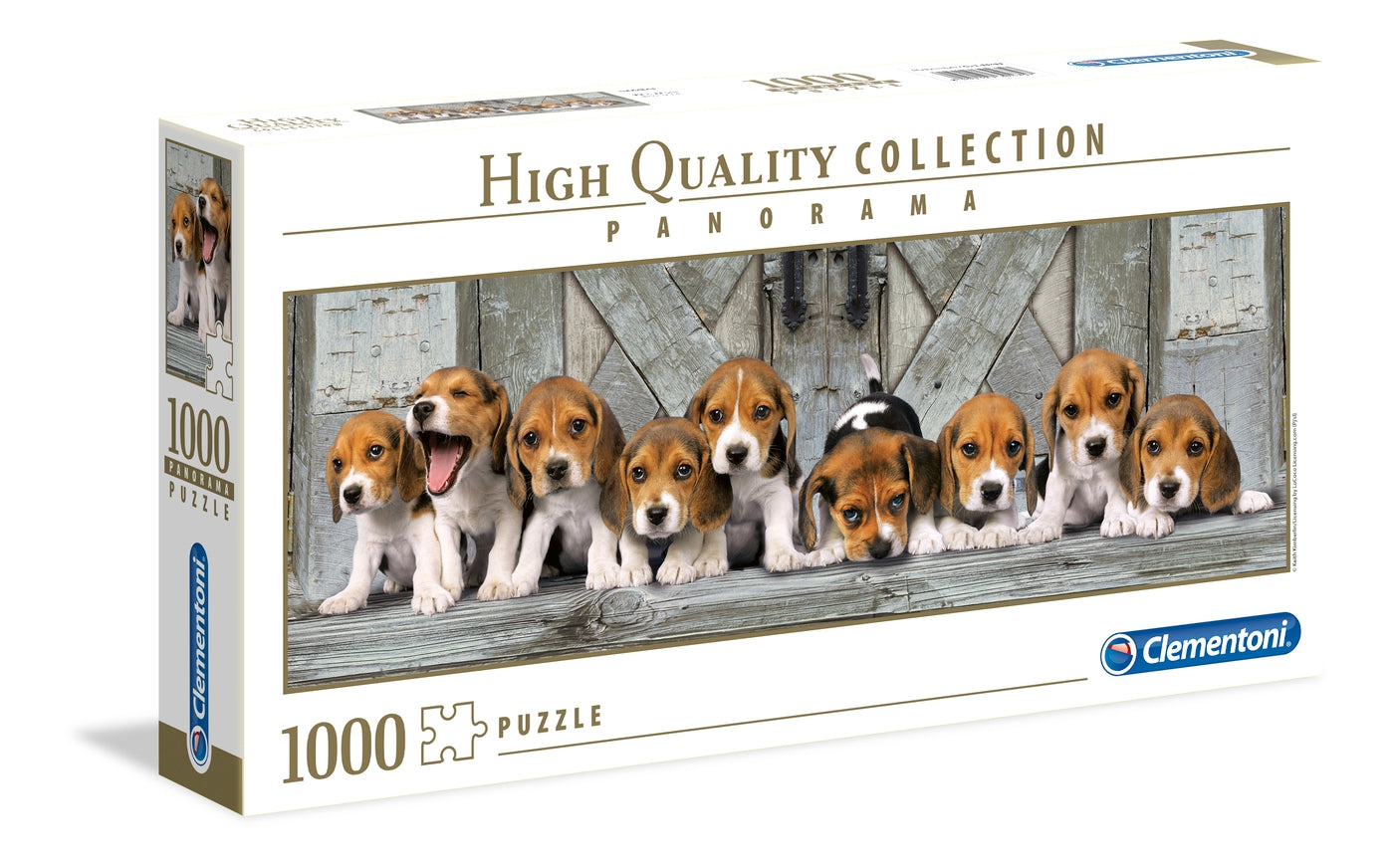 Beagles - 1000 Pcs - Panorama High Quality Collection