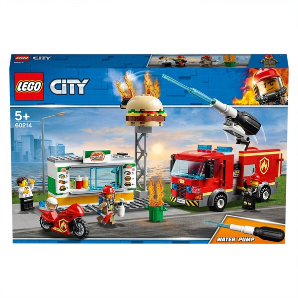 CITY 60214 - Burger Bar Fire Rescue