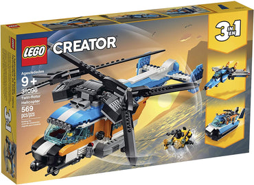 Creator 31096 - Twin-Rotor Helicopter