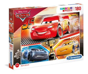 Disney Cars - 180 pcs - Supercolor Puzzle