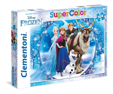 Disney Frozen - 104 pcs - Supercolor Puzzle