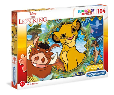 Lion King - Puzzle 104 pcs