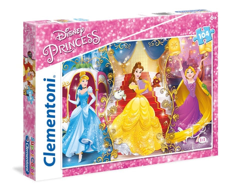 Disney Princess - 104 pcs - Supercolor Puzzle