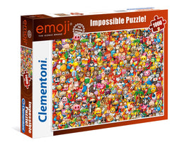 Emoji - 1000 Pcs Impossible Puzzle