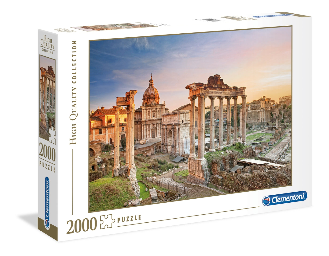 Forum Romanum - 2000 Pcs High Quality Puzzle