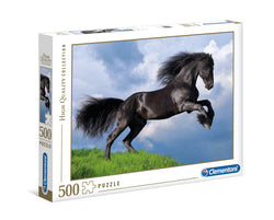 Fresian Black Horse - 500 pcs - High Quality Collection