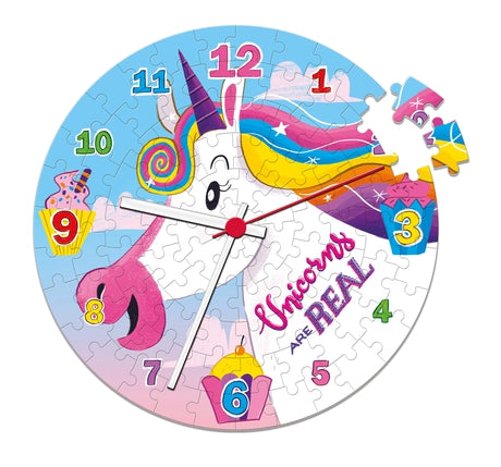 I Believe in Unicorns - 96 pcs - Clock Puzzle