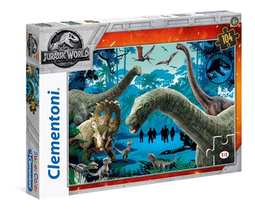 Jurassic World - 104 pcs - Supercolor Puzzle