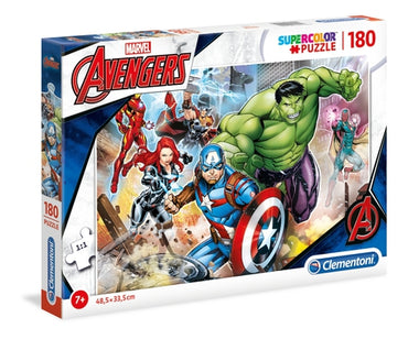 Marvel Avengers - 180 pcs - Supercolor Puzzle