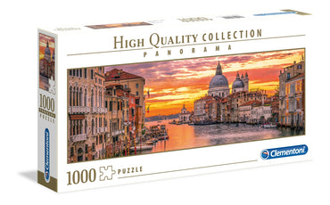 The Grand Canal - Venice - 1000 Pcs - Panorama High Quality Collection