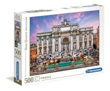 Trevi Fountain - 500 pcs - High Quality Collection
