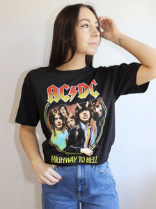 ACDC Vivid Graphic Band Tee