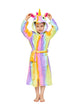 Multi-yellow Kid's Unicorn Robe | Christmas Gift for Your Kids