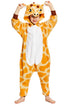 NEWCOSPLAY Unisex Kid's Giraffe Cosplay Onesies Pajamas- Plush One Piece Costume