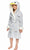Kid's Grey Penguin Robe | Christmas Gift for Your Kids