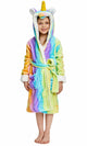 Kid's Yellow Unicorn Cosplay Robe | Christmas Gift for Your Kids