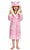 Kid's Pink Pig Sherpa Robe  | Christmas Gift for Your Kids
