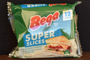 Bega Tasty Chedder Slice Cheese 250g