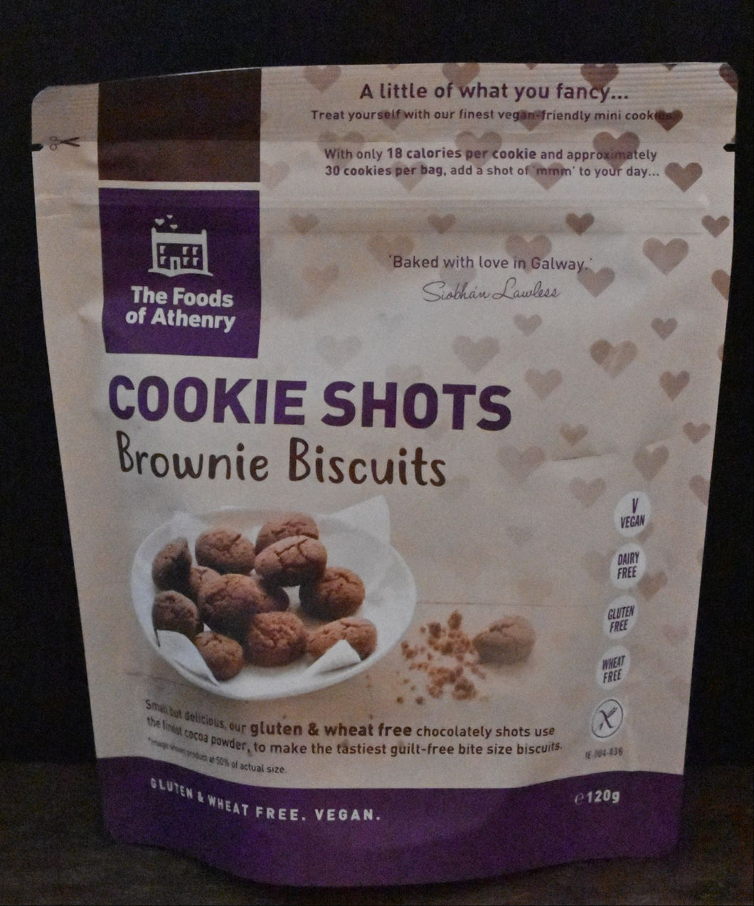 Athenry Brownie Biscuit Cookie Shots 120g