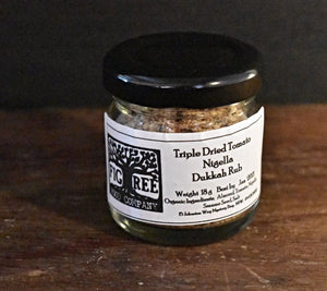 Figtree Food Company Triple Dried Tomato & Nigella Seed Dukkha 18g