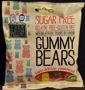 Free From Fellows Sugar Free Gummy Bears 100g