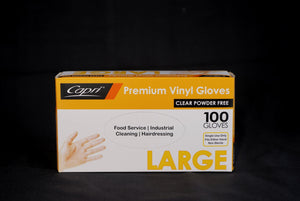 Glove Powder Free Large - 100 pack