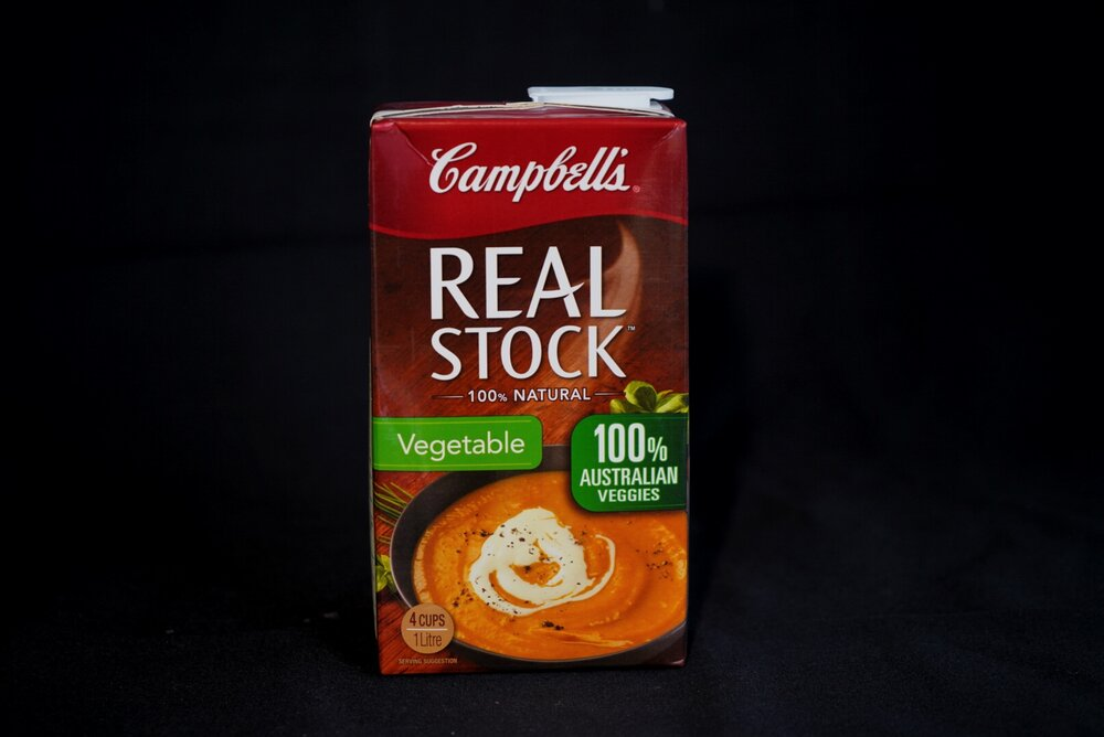 Campbells Real Vegetable Stock 1 L