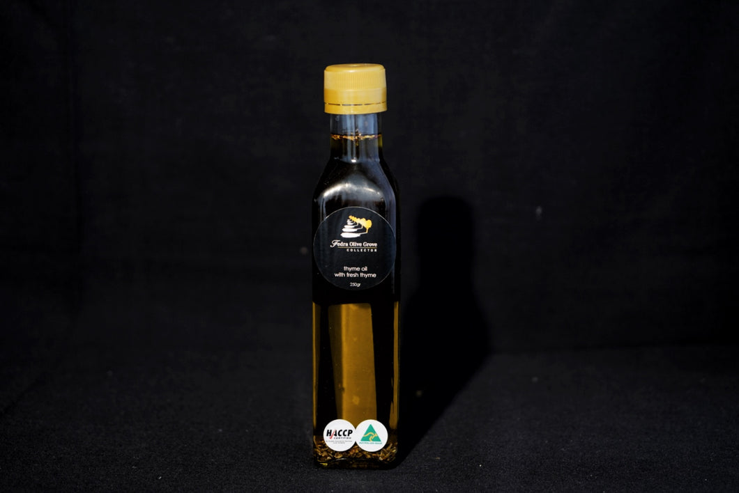 Thyme Infused Extra Virgin Olive Oil - 250mL Fedra