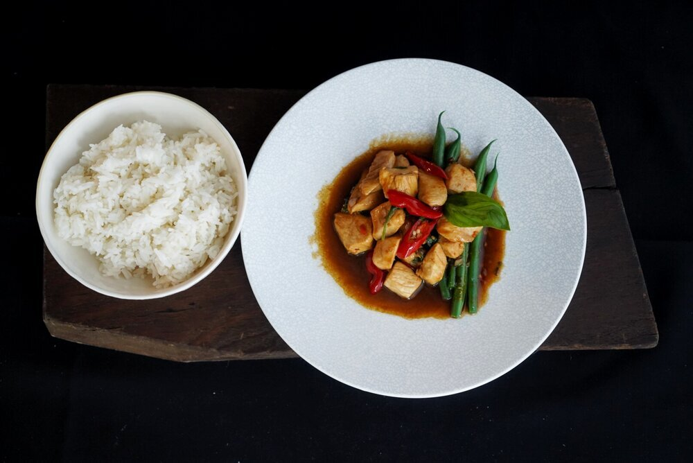 Thai Basil and Chilli Chicken
