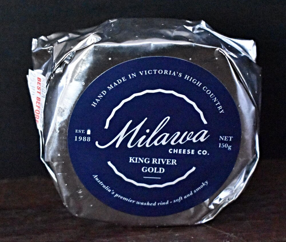 Milawa Cheese Washed Rind King River Gold 150g