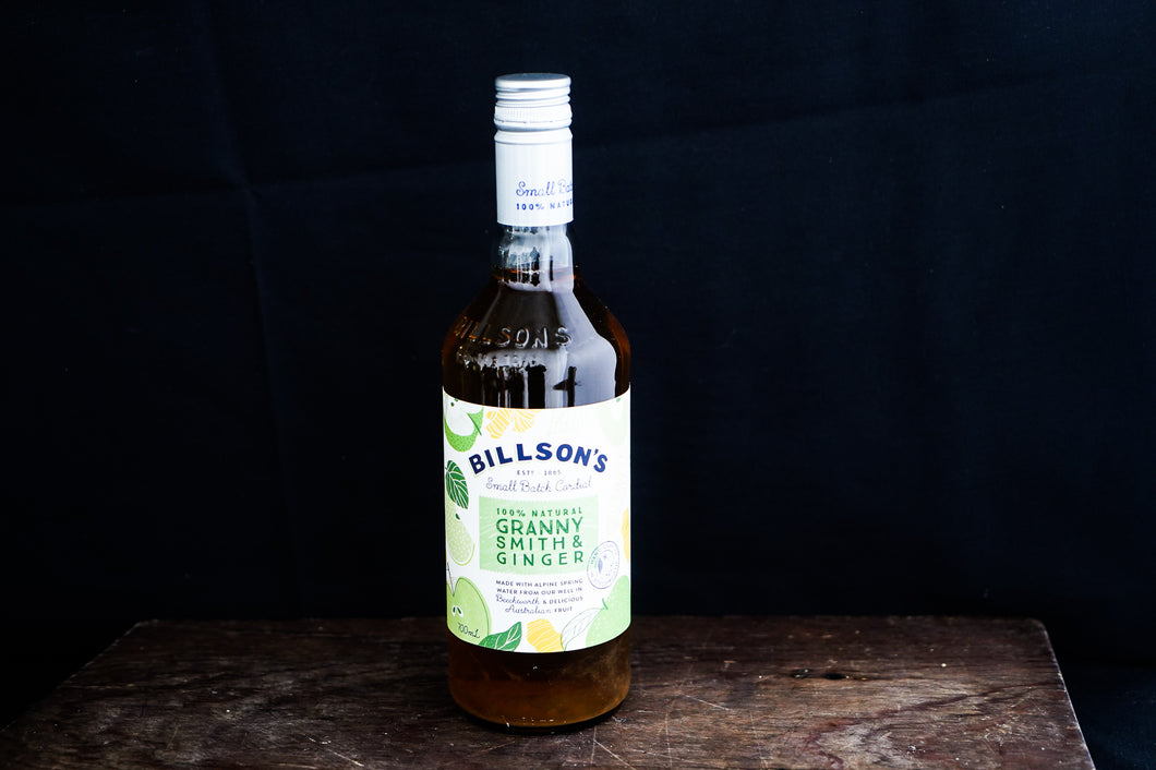 Billson's' Granny Smith & Ginger Cordial 700ml