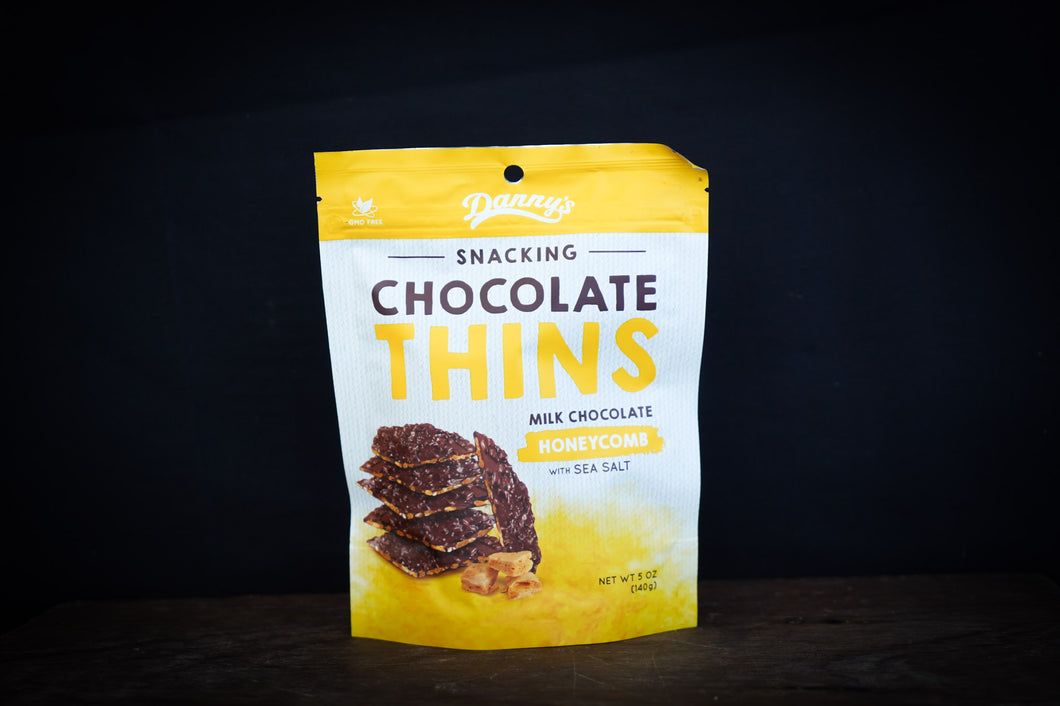 Danny's Chocolate Thins - Honeycomb 140g