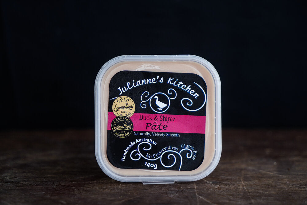 Julianne's Kitchen Duck & Shiraz Pate 140g