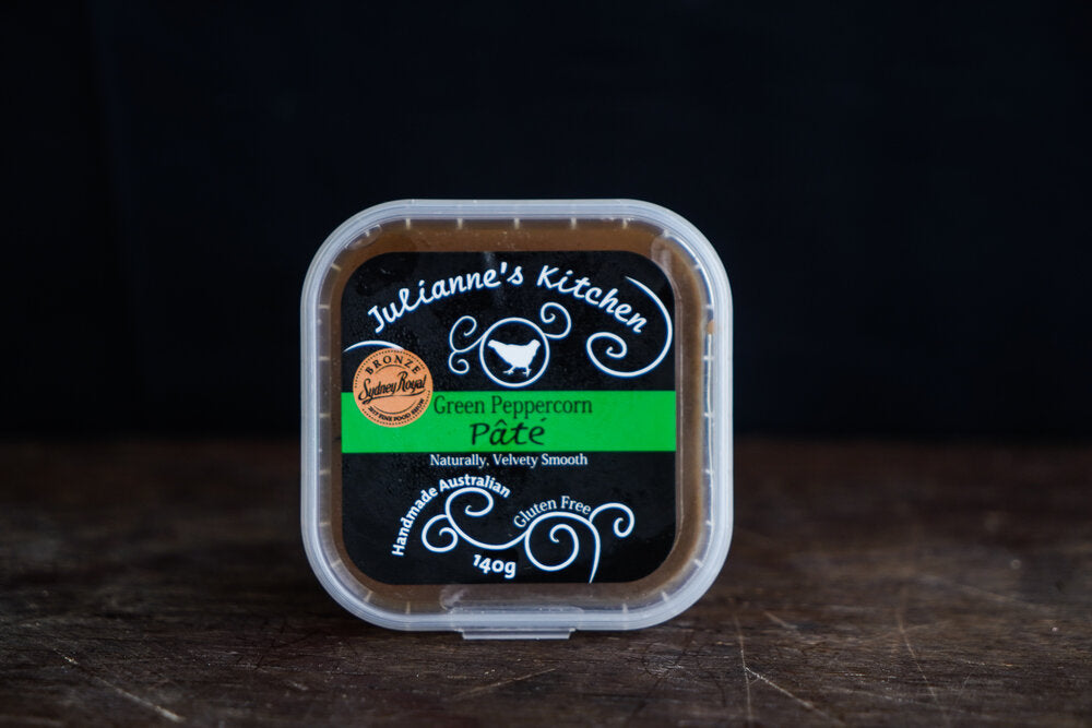 Julianne's Kitchen Chicken & Green Peppercorn Pate 140g