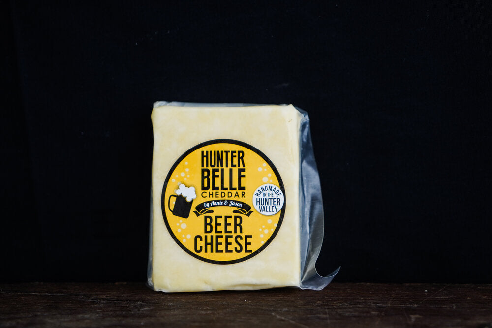 Hunter Belle Beer Cheese Cheddar 140g