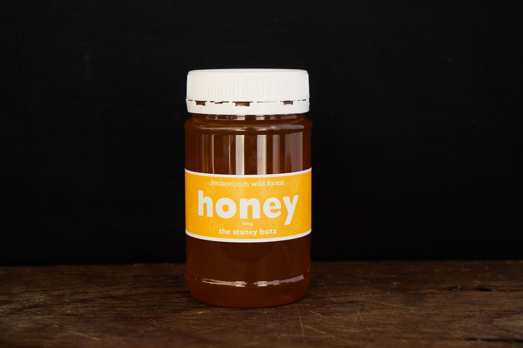 Jim Jam The Stanley Buzz Honey 500g