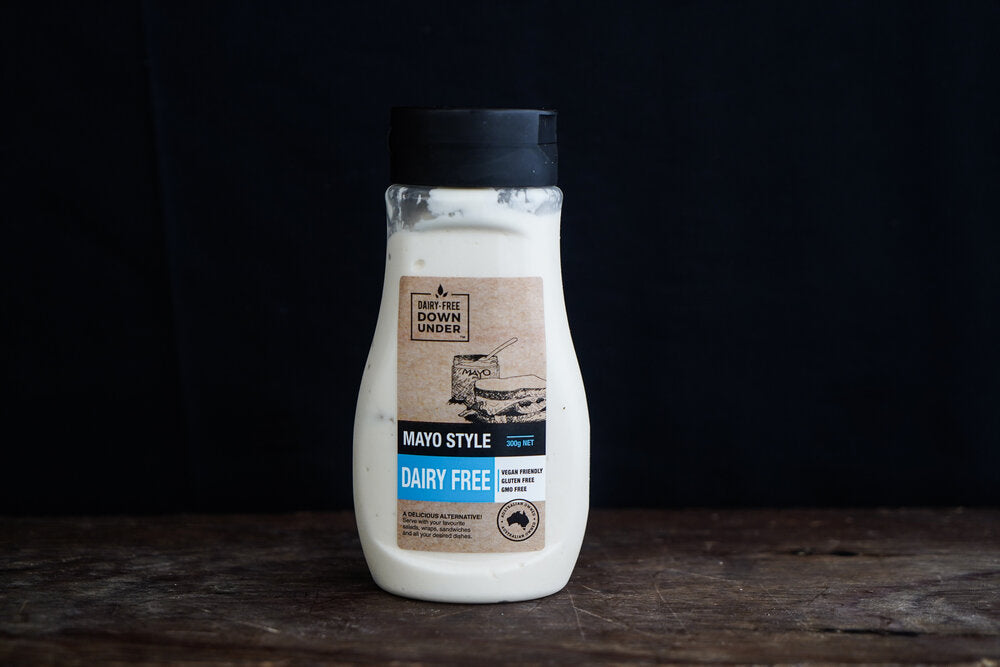 Dairy Free Down Under Mayonnaise Traditional Dairy Free - Vegan 300g