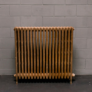 Wonderwall Wide Early 20th century cast iron radiator